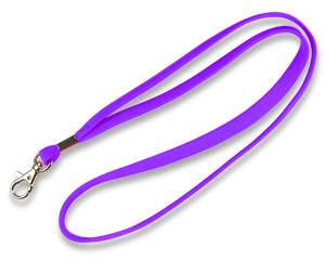 Lanyards 10 mm purple