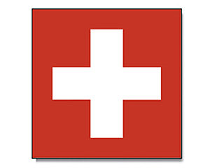 Flag  Switzerland 120 x 120