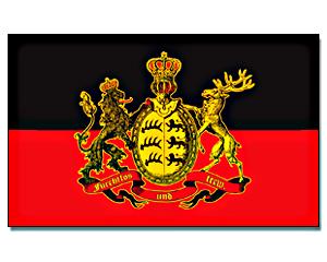 flag w rttemberg furchtlos und treu 90 x 150. Black Bedroom Furniture Sets. Home Design Ideas