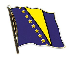 Flag Pins (swinging): Bosnia and Herzegovina