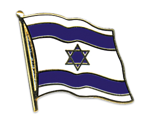 Flag Pins (swinging): Israel