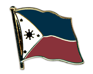 Flag Pins (swinging): Philppines