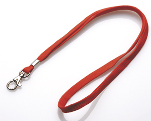 Lanyards 10 mm rot