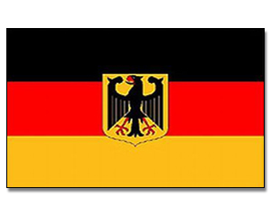 Flags Germany with Eagle 30 x 45